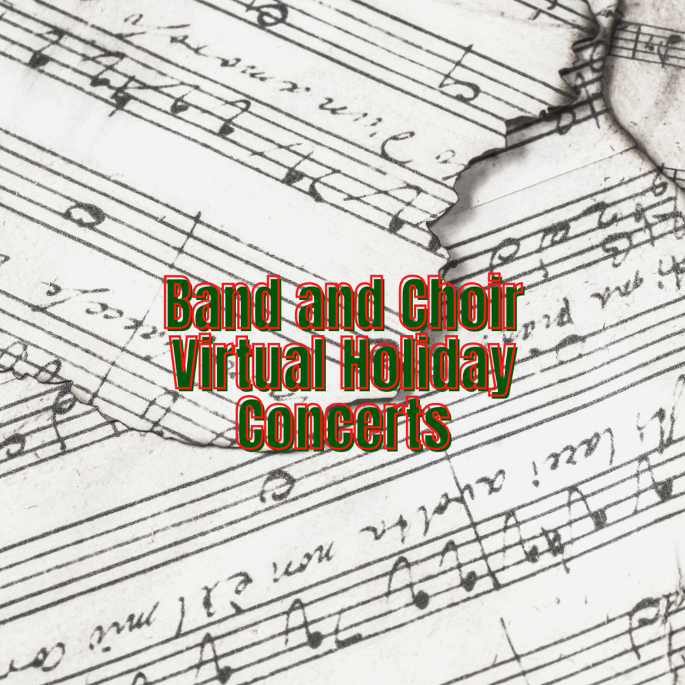 Howland High School's band and choir to perform virtual winter concerts