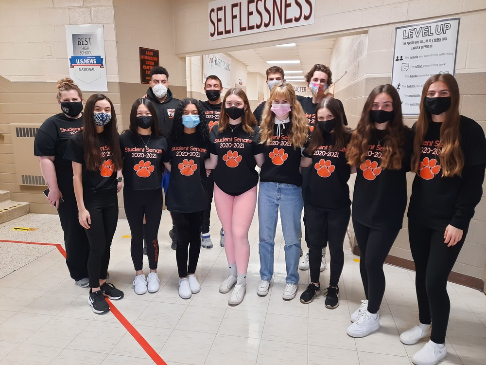 Howland High School Student Senate raising awareness and funds this school year